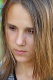 Het droevige meisje Stock Afbeelding