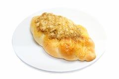 Het droge verscheurde brood van de varkensvleesmayonaise Stock Fotografie