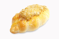 Het droge verscheurde brood van de varkensvleesmayonaise Stock Afbeelding