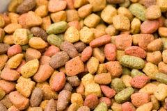 Het droge Voedsel van de Kat Royalty-vrije Stock Afbeeldingen