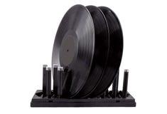 Het drogen voor vinylverslagen royalty-vrije stock foto