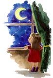 Het dromen Stock Afbeelding