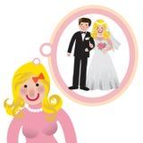 Het dromen royalty-vrije illustratie