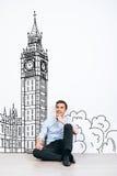 Het dromen over Londen royalty-vrije stock fotografie