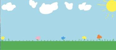Het dromen van de Lentebloemen in Mei stock afbeelding