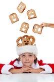 Het dromen van een betere wereld in Kerstmistijd royalty-vrije stock foto