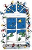 Het dromen van Kerstmis Stock Foto's