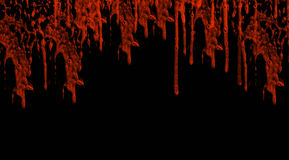 Het druipen blod Royalty-vrije Stock Foto's