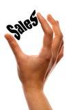 Het drukken van de verkoop vector illustratie