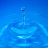 Het druppeltje van het water royalty-vrije stock afbeelding