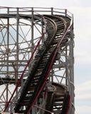 Het Dubbel van de achtbaan Stock Foto