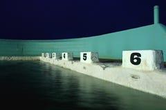 Het duiken Blokken in Dawn Royalty-vrije Stock Foto's