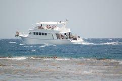 Het duiken boot Stock Afbeelding