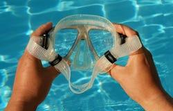 Het duiken Glazen Royalty-vrije Stock Foto