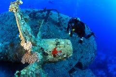 Het duiken in het Rode Overzees Royalty-vrije Stock Afbeelding