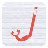 Het duiken snorkelt Pictogram Royalty-vrije Stock Fotografie