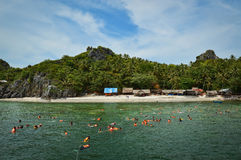 Het duiken in Thailand royalty-vrije stock afbeeldingen