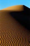 Het duin van de woestijn royalty-vrije stock afbeeldingen