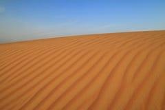 Het duin van de woestijn Royalty-vrije Stock Foto's