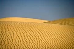 Het Duin van de woestijn, Wahiba Zand, Oman Royalty-vrije Stock Afbeelding