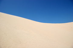 Het duin van het zand Royalty-vrije Stock Afbeelding