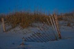 Het duin van het zand royalty-vrije stock foto