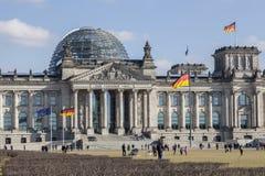 Het Duitse Federale Parlement - Bundestag Royalty-vrije Stock Afbeeldingen