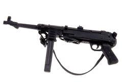 Het Duitse machinegeweer van het stuk speelgoed Stock Foto's