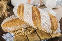 Het Duitse Panorama van het Brood van de Zuurdesem Royalty-vrije Stock Afbeelding