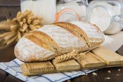 Het Duitse Panorama van het Brood van de Zuurdesem Stock Fotografie