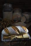 Het Duitse Panorama van het Brood van de Zuurdesem Royalty-vrije Stock Foto's