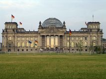 Het Duitse parlement Stock Foto