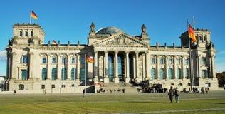 Het Duitse Parlement in Berlijn Stock Afbeeldingen