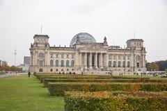 Het Duitse Parlement in Berlijn Stock Afbeelding