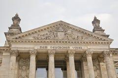 Het Duitse Parlement in Berlijn Royalty-vrije Stock Fotografie