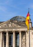 Het Duitse parlement bij nacht Royalty-vrije Stock Foto