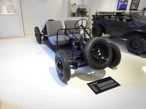Het Duitse prototype van de nutsauto Stock Fotografie