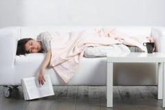 Het dutje van de middag Stock Foto