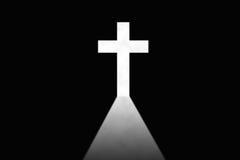 Het dwars teken van het Christendom royalty-vrije illustratie
