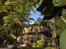 Het Earnest Hemingway-huis Stock Afbeelding