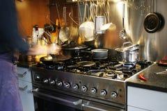 Het echte koken Stock Afbeelding