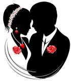 Het Echtpaar van huwelijken Stock Foto