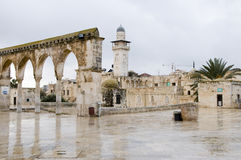 Het edele Heiligdom, Jeruzalem Stock Foto