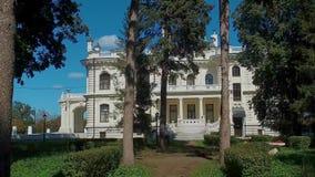 Het edelman` s landgoed van de fabrikant Aseev 06 Het huis werd gebouwd in de Art Nouveau-stijl stock videobeelden