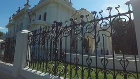 Het edelman` s landgoed van de fabrikant Aseev 09 Het huis werd gebouwd in de Art Nouveau-stijl stock footage