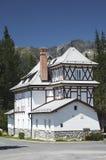 Het een andere witte huis Stock Fotografie