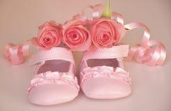 Het is een babymeisje! Royalty-vrije Stock Foto