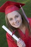 Het een diploma behalen Stock Fotografie