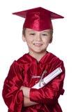 Het een diploma behalen van kleuterschool Royalty-vrije Stock Afbeelding