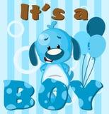 Het is een jongen! stock illustratie